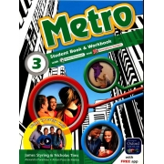 METRO - STUDENT BOOK & WORKBOOK - 3 - 9ºANO
