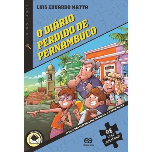 7º ANO - O DIÁRIO PERDIDO DE PERNAMBUCO