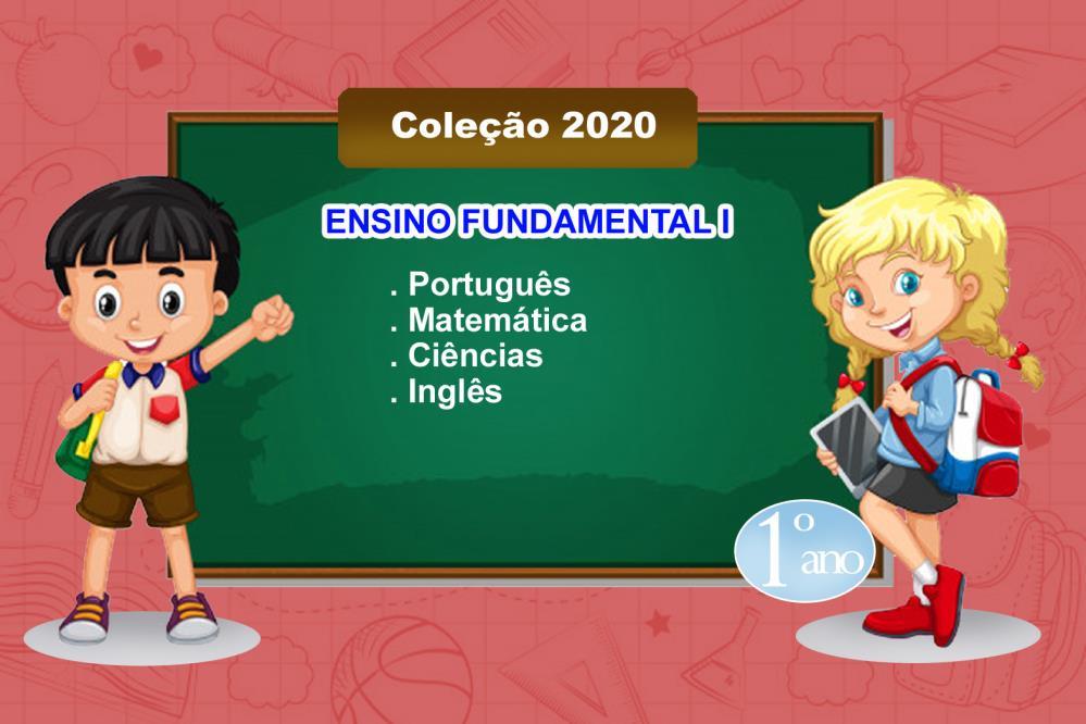 COLEÇÃO LIVROS - 1º ANO - ENS. FUND. I - 2021