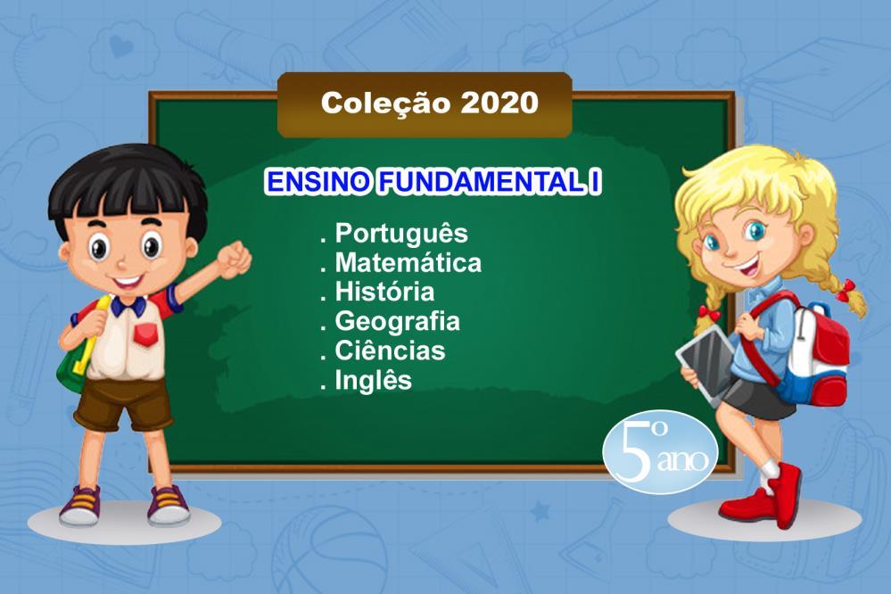 COLEÇÃO LIVROS - 5º ANO - ENS. FUND. I - 2021