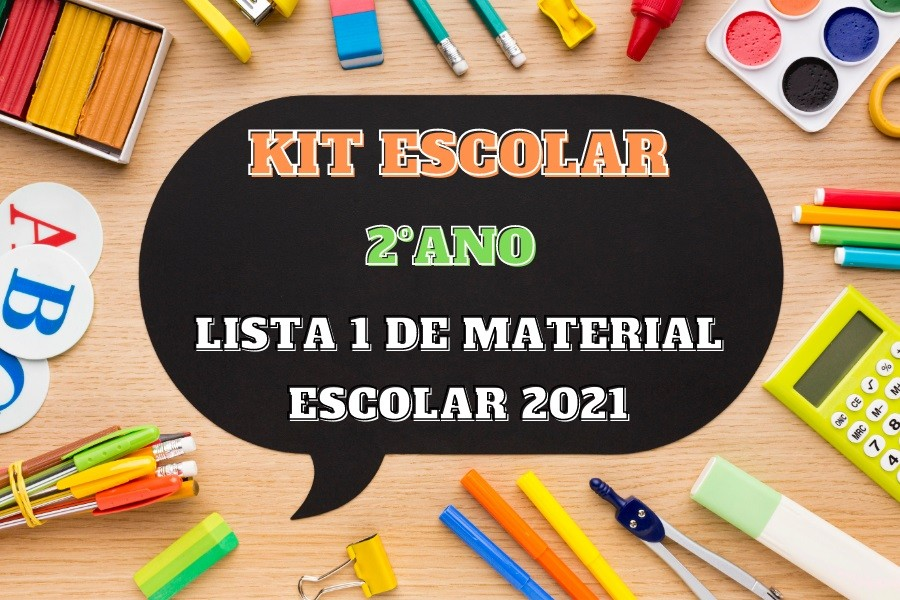 KIT ESCOLAR - 2 ANO