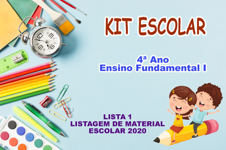 KIT ESCOLAR - 4 ANO