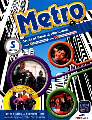 METRO - STUDENT BOOK & WORKBOOK - STARTER - 6ºANO