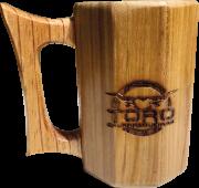Caneca de madeira Toro