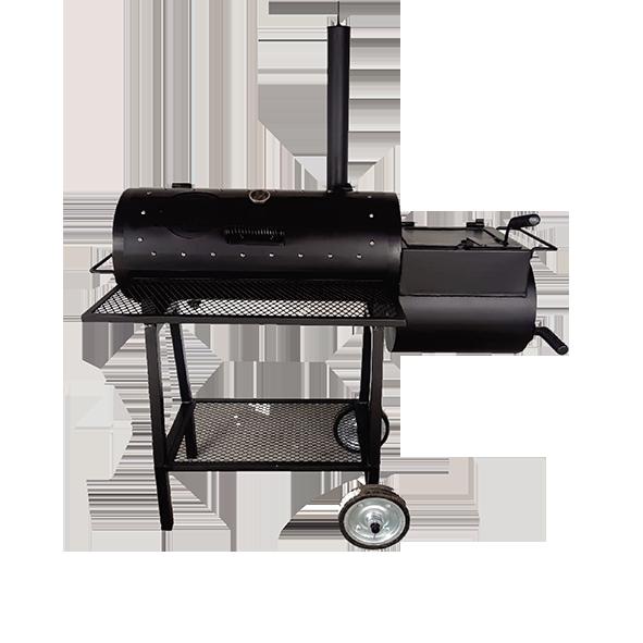 Pit Smoker 300 Fluxo reverso, chapa 4.75 MM