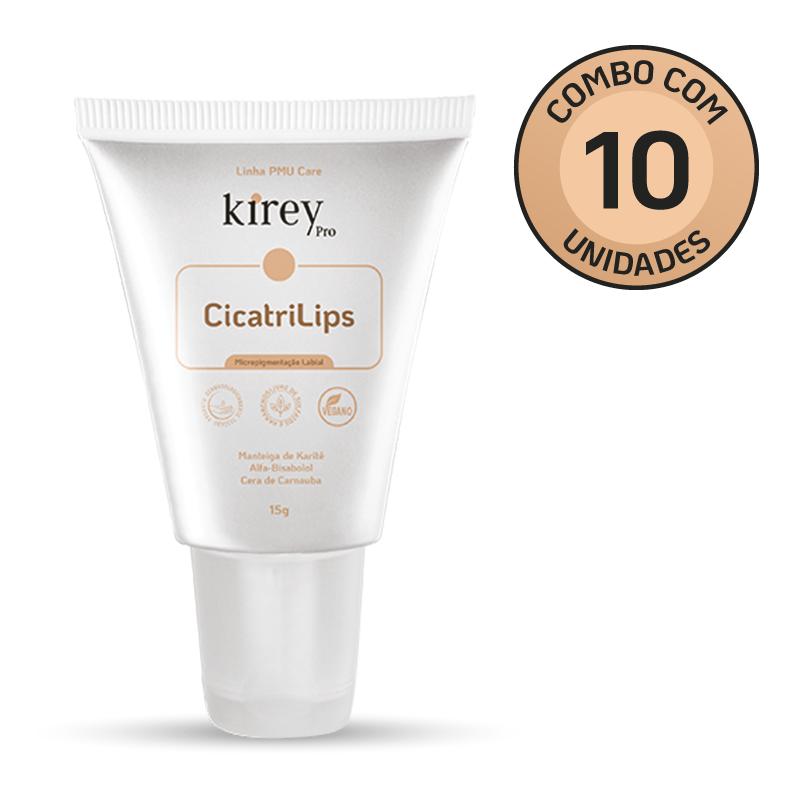 CicatriLips Homecare (Micropigmentação Labial) - Combo com 10 unidades