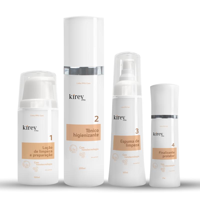 PMU CARE Kit Profissional KireyPro (4 passos)