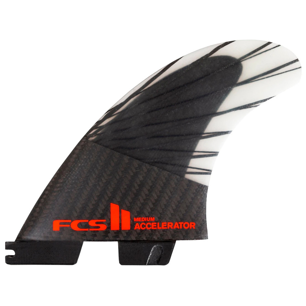 Quilha FCS II Acceleration Media PC Carbon