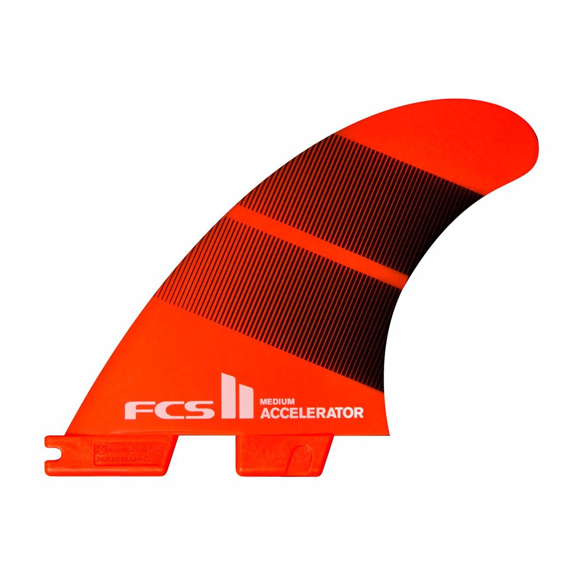 Quilha FCS II Accelerator  Neo Glass