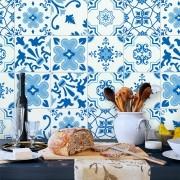 Adesivo de Azulejo Clássico Azul 1
