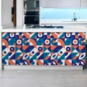 Adesivo de Azulejo Flat Shapes 1