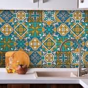 Adesivo de Azulejo Marroquino
