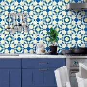 Adesivo de Azulejo Moderno Azul
