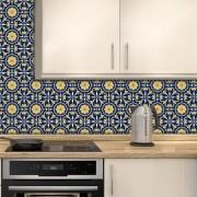 Adesivo de Azulejo Moroccan 9
