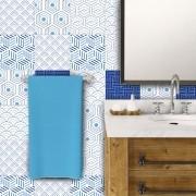 Adesivo de Azulejo Plano Azul