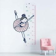 Adesivo de Parede Regua Infantil Bailarina 1