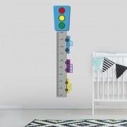 Adesivo de Parede Regua Infantil Carrinhos 3