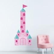 Adesivo de Parede Regua Infantil Castelo 2