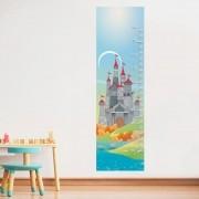 Adesivo de Parede Regua Infantil Castelo 3