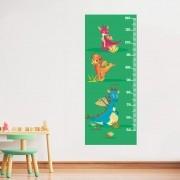 Adesivo de Parede Regua Infantil Dragões