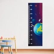 Adesivo de Parede Regua Infantil Espaço Sideral 2