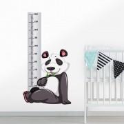 Adesivo de Parede Regua Infantil Panda 1