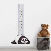 Adesivo de Parede Regua Infantil Panda 4