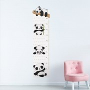 Adesivo de Parede Regua Infantil Panda 5