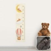 Adesivo de Parede Regua Infantil Ursos