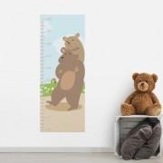 Adesivo de Parede Regua Infantil Ursos 2
