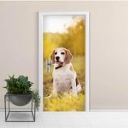 Adesivo de Porta Cachorro 1