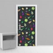 Adesivo de Porta Cozinha 3