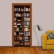 Adesivo de Porta Estante de Livros 1