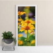 Adesivo de Porta Flor Amarela