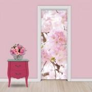 Adesivo de Porta Flores Cerejeira