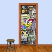 Adesivo de Porta Grafite 1