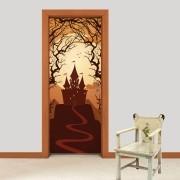 Adesivo de Porta Halloween