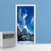 Adesivo de Porta Inverno 4