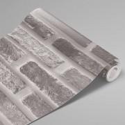 Adesivo Para Envelopamento Tijolo Cinza