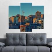 Kit 3 Placas Decorativas Mosaico - Cape Town