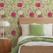 Papel de Parede Floral Rosas 4