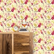 Papel de Parede Flores de Campo 2