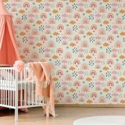 Papel de Parede Infantil - Boho Rainbow 3