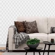 Papel de Parede 3D - Persa 3D Branco
