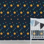 Papel de Parede Infantil - Planetas e Sol