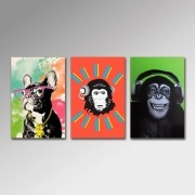 Placa Decorativa - Animais Modernos