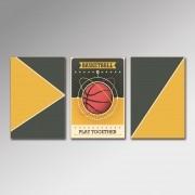 Placa Decorativa - BasketBall
