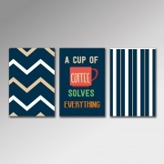 Placa Decorativa - Cup of Coffee