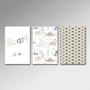 Placa Decorativa - Dino