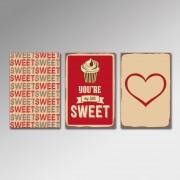 Placa Decorativa - My Little Sweet